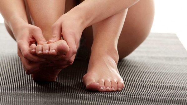 Артрит ног может развиться ввиду полученных травм