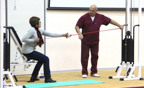 Упражнения Бубновского эффективно лечит плечелопаточный периартрит