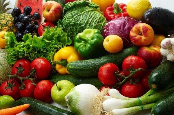 Рекомендуется обильное употребление овощей