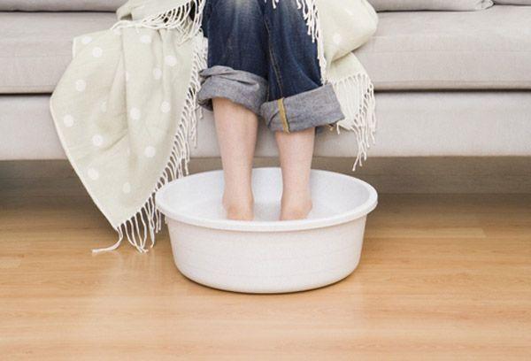 Солевые ванны оказывают болеутоляющее действие
