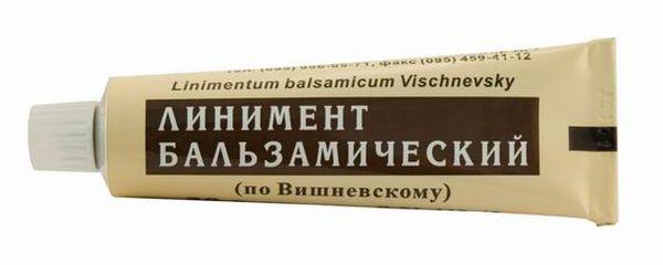Мазь Вишневского - доступное средство от подагры