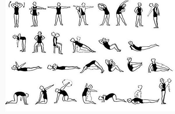 Комплекс упражнений для периода ремиссии