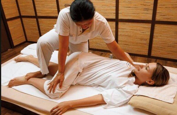Тайский массаж очень эффективный