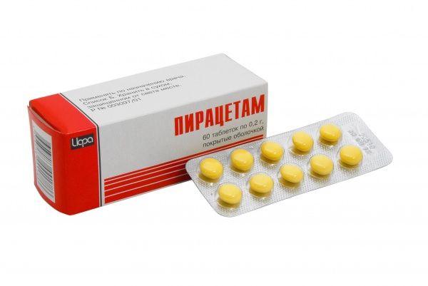 Пирацетам - универсальное средство для улучшения кровоснабжения