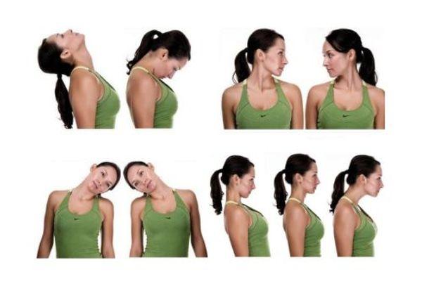 Щадящие упражнения при шейном остеохондрозе