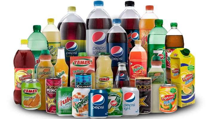 Газированные напитки содержат много сахара
