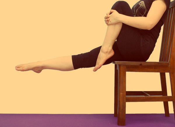 Упражнение для разблокировки седалищного нерва