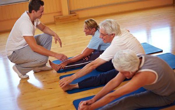 Гимнастика при остеопорозе запрещает интенсивные движения
