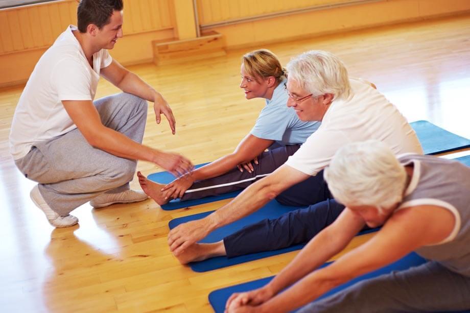 При остеопорозе рекомендована лечебная физкультура